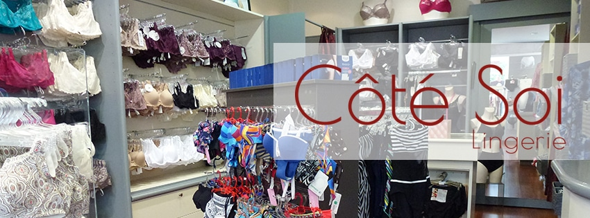 interieur boutique Cote Soi Quimperle